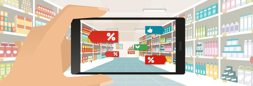 Promotions de supermarchés en ligne