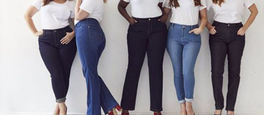 Pantalon grande taille