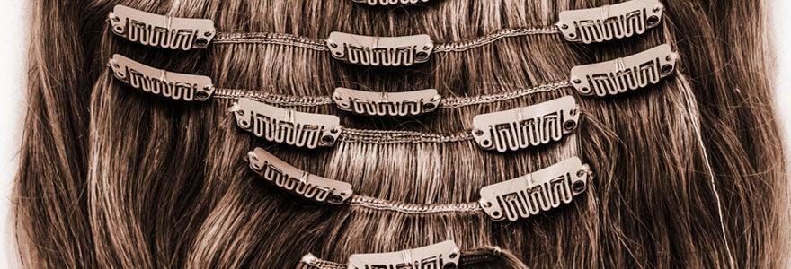 extensions à clips