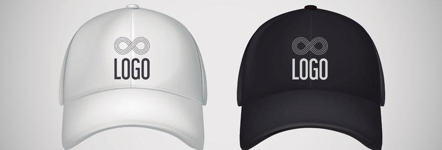 Casquettes avec logo