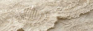 Tissu en dentelle