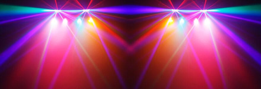 pack jeu de lumière