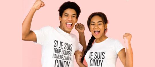 T-shirt assortis pour les couples
