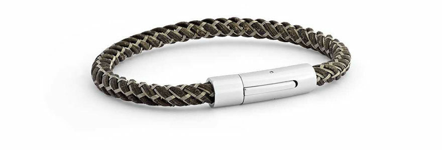 bracelets en cuirs personnalisés